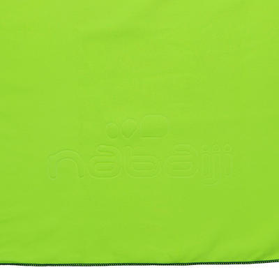 צהוב מגבת מיקרופייבר רכה L