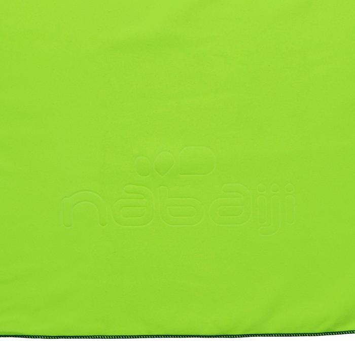 Serviette microfibre jaune L