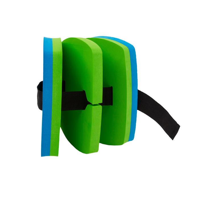 Schwimmgürtel mit abnehmbaren Elementen blau/grün