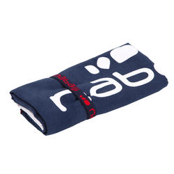 Printed Microfibre Towel, L - Red Blue