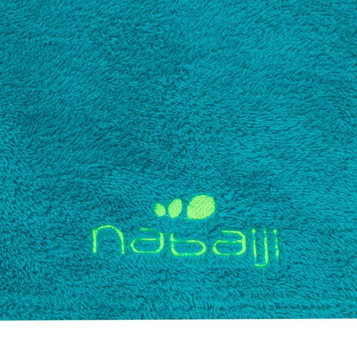 Toalla Baño Piscina Natación Nabaiji Azul Ultra Suave Talla L