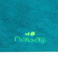 Soft Printed Microfibre Towel, L Blue