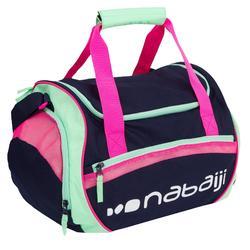 Bolsa Piscina Bolsillo Impermeable 30L Natación Nabaiji 500 Azul Rosa