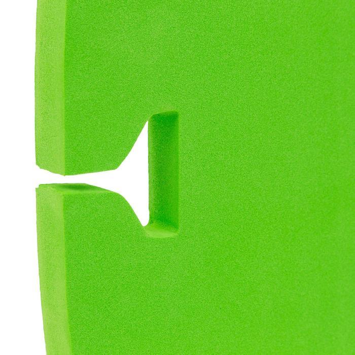 Ceinture de natation bleu vert avec flotteur amovible