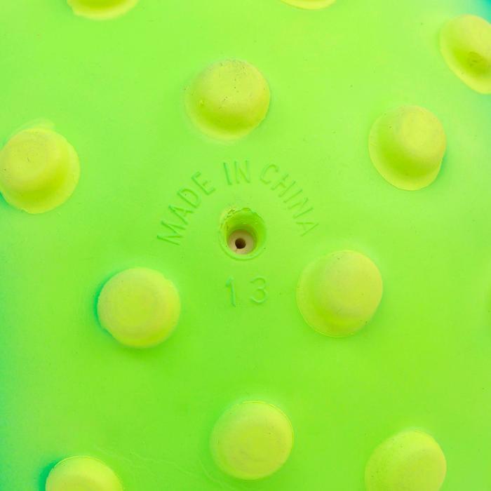 Wasserball klein mit Noppen grün/gelb