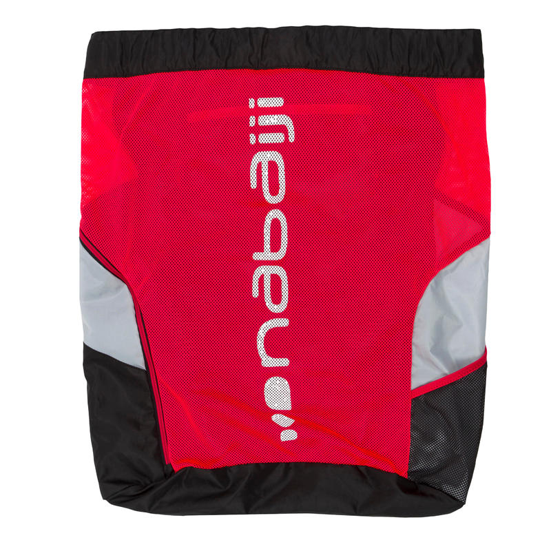 Swimming Mesh Pool Bag 900 - Black Red