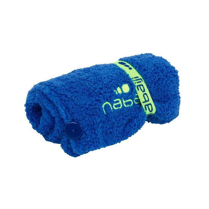 Toalla Baño Piscina Natación Nabaiji Azul Oscuro Suave Para el Cabello