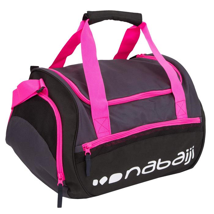 Bolsa Piscina Bolsillo Impermeable 30L Natación Nabaiji 500 Rosa Impermeable
