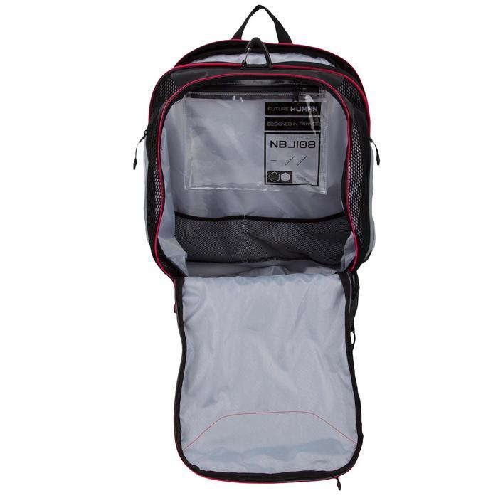 Schwimmrucksack 900 40l schwarz/grau