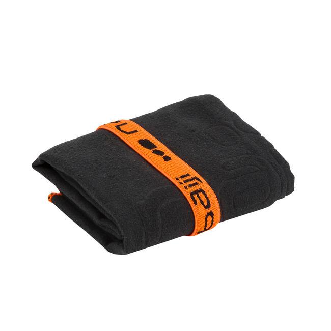 Microfiber Towel Ultra-Compact Size S 42 x 55 cm - Black