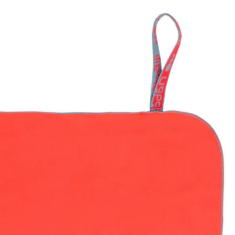 Microfiber Towel Size L 80 x 130 cm - Orange