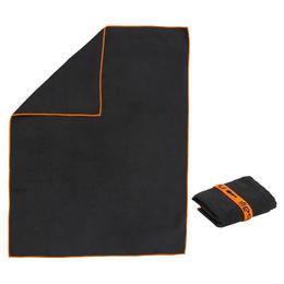 Microfiber Towel Size S 42 x 55 cm Black