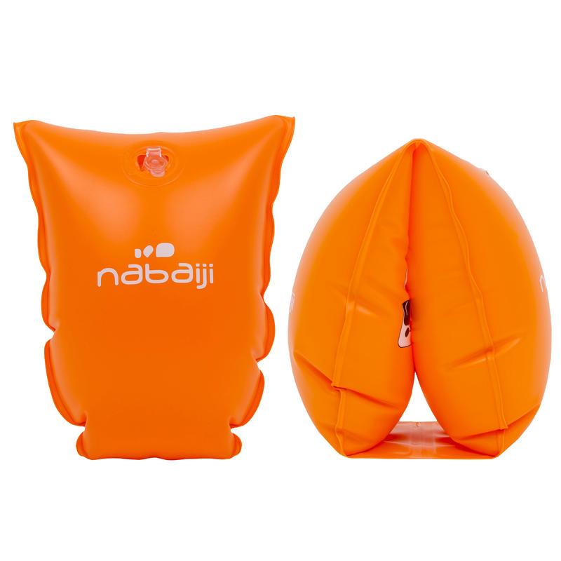 Alitas de natación para niños naranja