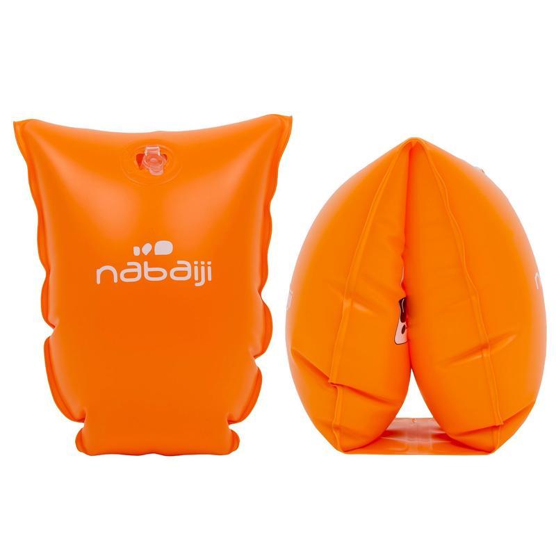 Zwembandjes voor kinderen van 11 tot 30 kg oranje