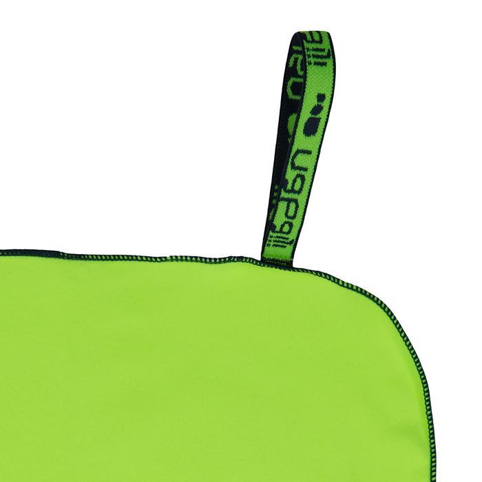 Toalla microfibra amarillo L