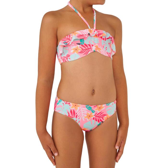 Bikini Completo Surf Olaian Lily Cuty Niña Rosa