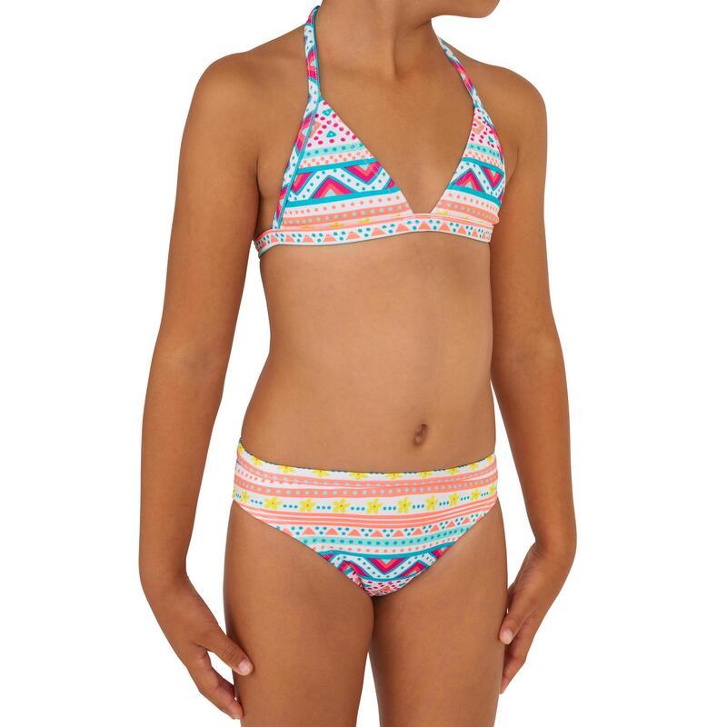 TINA VAIANA two-piece triangle surfing bikini - PINK