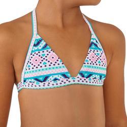 Bikini-Set Triangel Tina Vaiana Martinica Mädchen blau