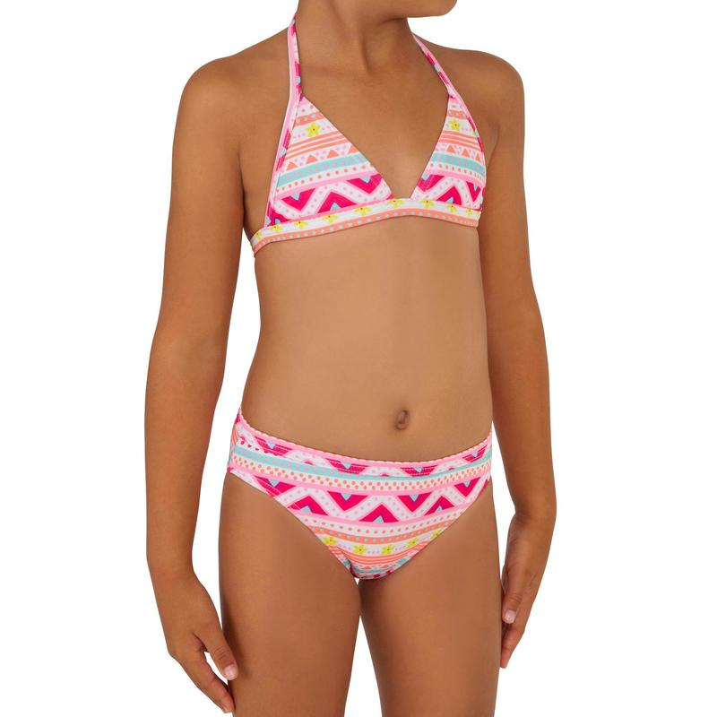 TINA VAIANA two-piece triangle surfing bikini - Multicoloured