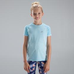 SKINCARE GIRL'S ATHLETICS T-SHIRT SKY BLUE