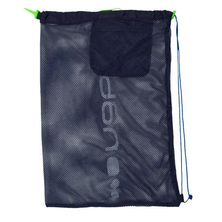 SWIM BAG MESH 500 30 L BLUE