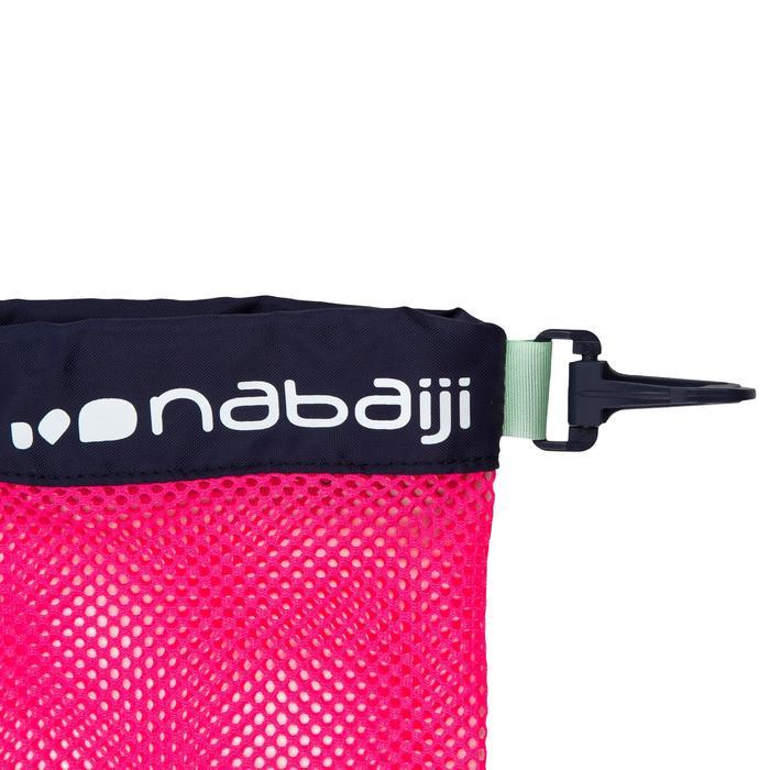 Bolsa Malla Piscina Natación Nabaiji 500 Rosa/Azul 30L