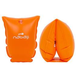 Kids' Swimming Armbands orange 30-60 kg