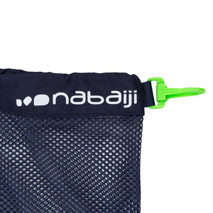 Bolsa Malla Piscina Natación Nabaiji 500 Azul/Verde 30L