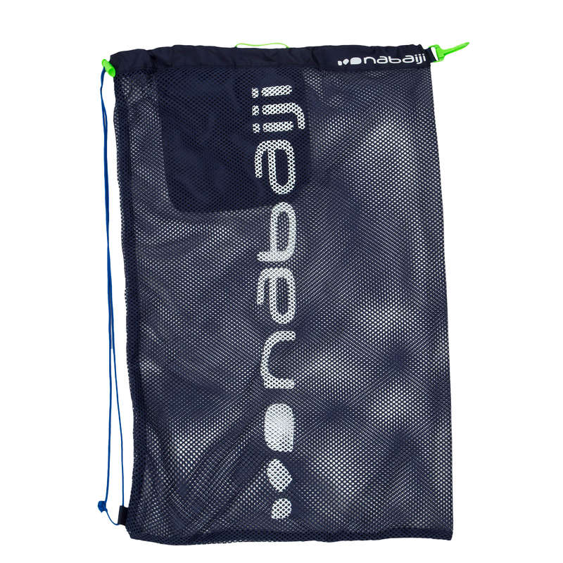 MATERIAL Swimming - SWIM BAG MESH 30L BLUE NABAIJI - Poolside Accessories