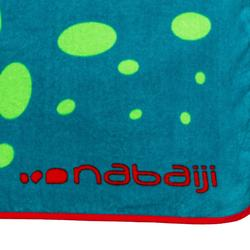 Serviette bébé imprimé Dragon bleu vert