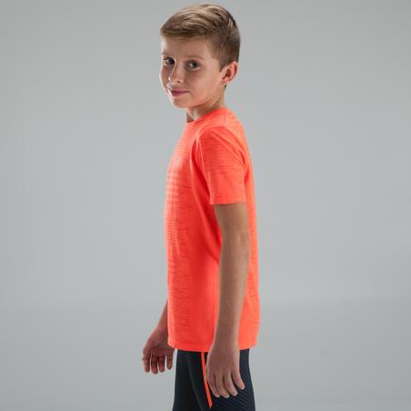SKINCARE KIDS' ATHLETICS T-SHIRT - RED