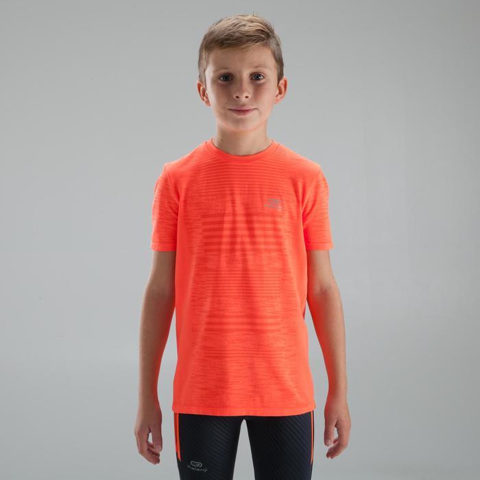 兒童田徑T恤Skincare紅色