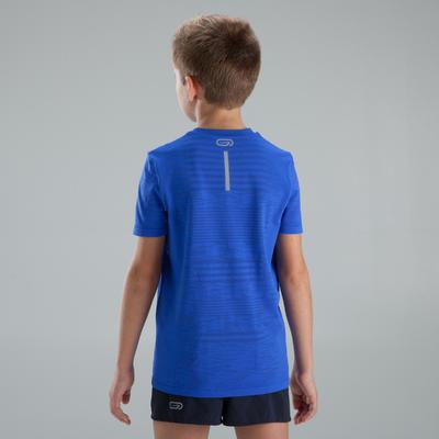 Дитяча футболка Skincare для легкої атлетики - Синя