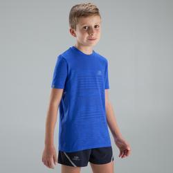 Atletiekshirt voor kinderen Skincare blauw