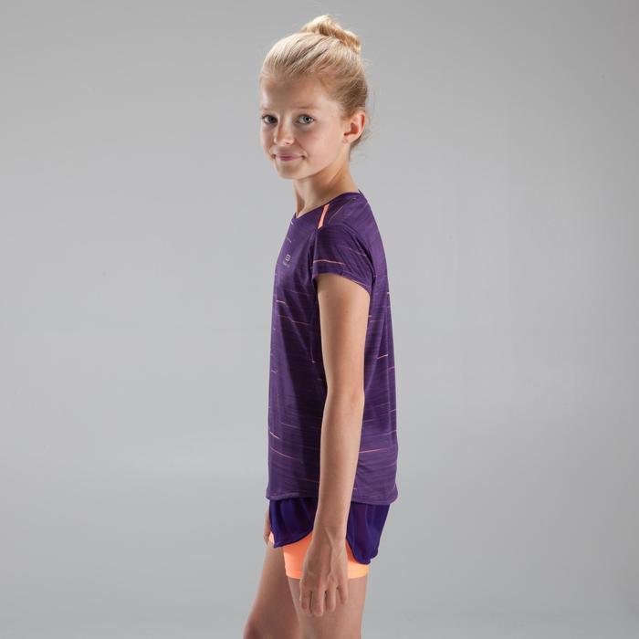 Hardloopshirt kinderen Run Dry+ paars