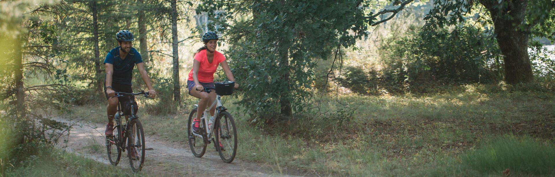Où pratiquer la randonnée à vélo tout chemin