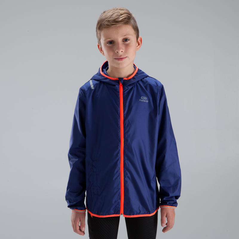 Los niños de Atletismo de LA Cazadora Azul de Neón Rojo - 14 Años