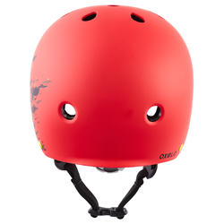 Play 7 Full Inline Skating, Skateboarding, Scootering and Cycling Helmet - Red