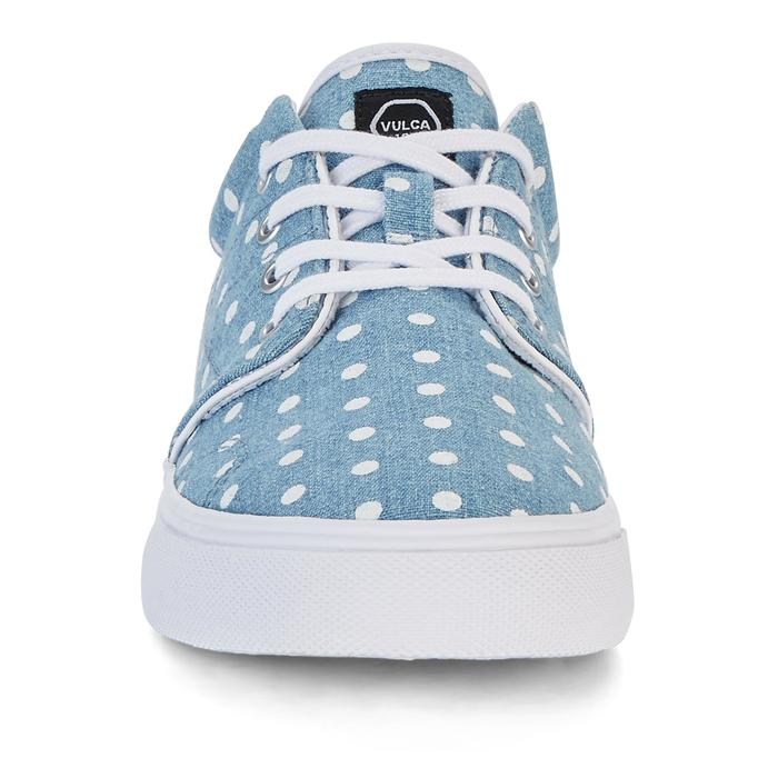 Chaussures basses skateboard-longboard adulte VULCA 100 CANVAS L Denim