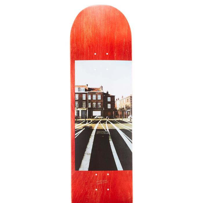"Skateboard deck 120 Greetings maat 8.5"" rood"