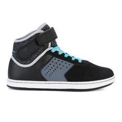 Hoge skateschoenen kinderen Crush 520 zwart en paars