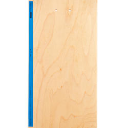 "8.25"" Skateboard Deck 100 - Wood/Blue"