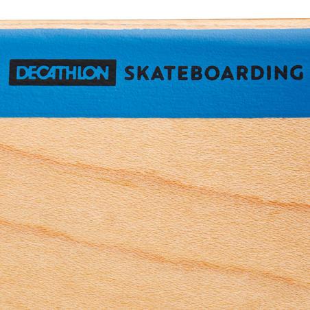 """Deck 100 Skateboarding Ukuran Dek 8,25"""" - Kayu/Biru"""