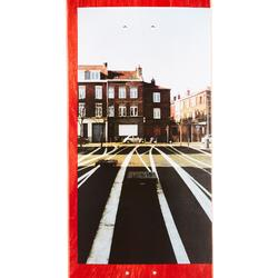 """Planche de skate DECK 120 GREETINGS taille 8.5"""" couleur rouge."""