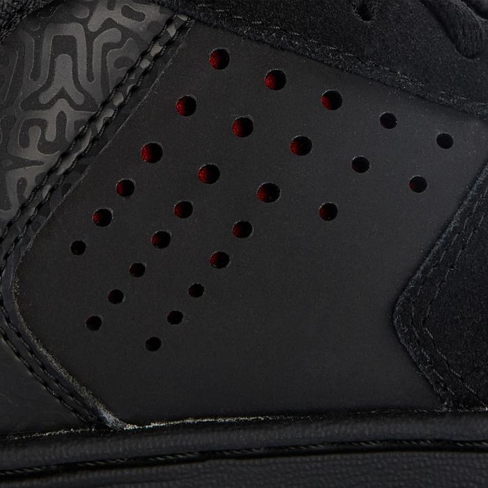 Hoge skateschoenen voor kinderen Crush 520 zwart/rood