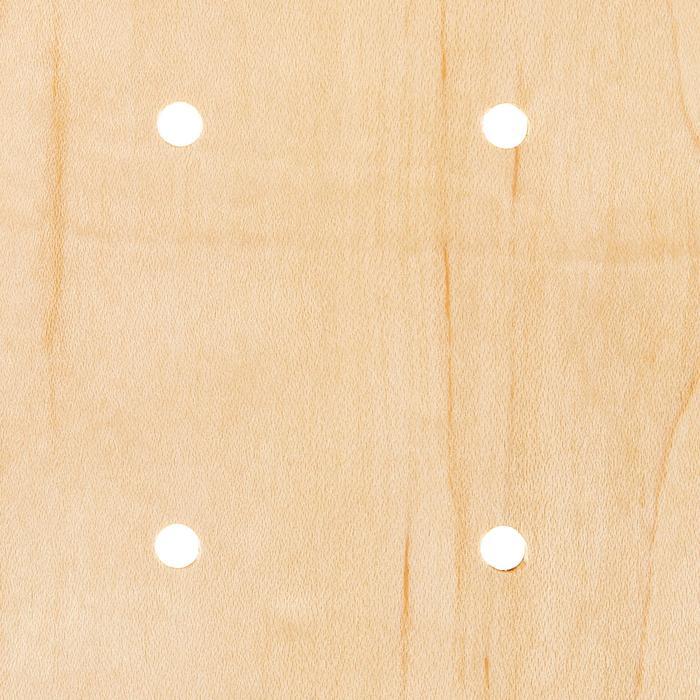 """Skateboard-Deck 100 Größe 8"""" holzfarben/gelb"""