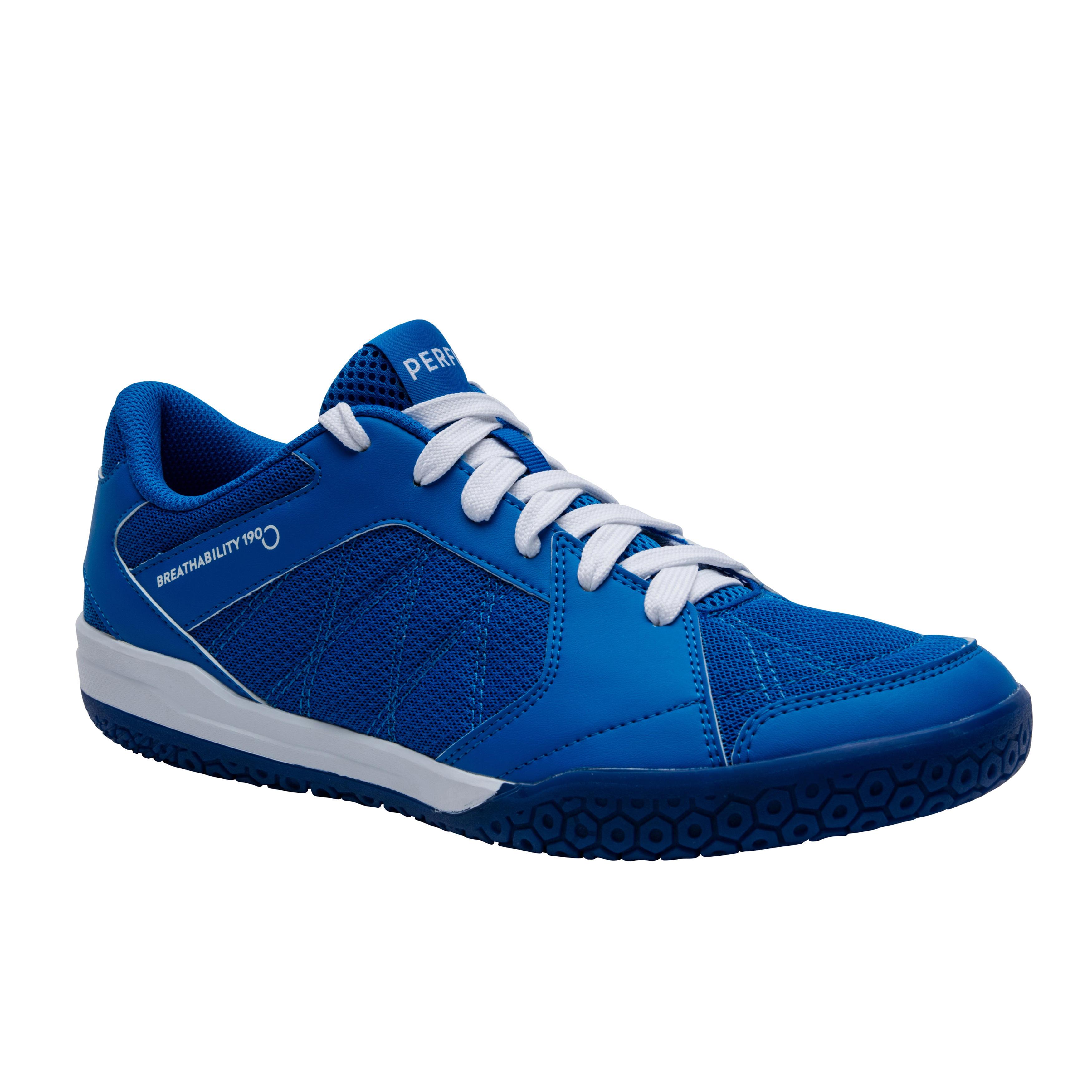 Perfly Badmintonschoenen voor heren BS 190 blauw