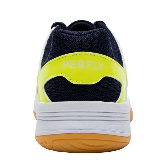 Chaussures De Badminton Junior BS 500 garçon - Blanc/Jaune