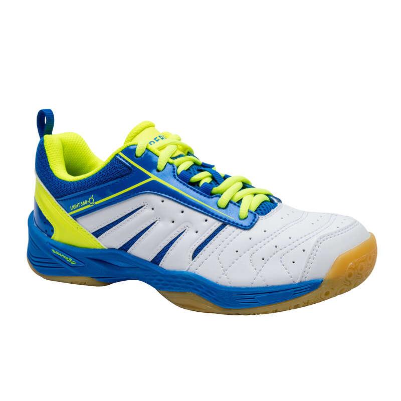 GYEREK TOLLAS/SQUASH CIPŐ USA csapatsportok, rögbi, floorball - Tollaslabda cipő BS 560 Lite  PERFLY - Floorball