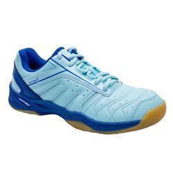 女款輕量羽球鞋-天空藍
